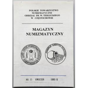 Makieta - Magazyn numizmatyczny 1993 nr 13