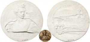 Modele gipsowe MENNICY - Ignacy Prądzyński (awers, rewers i medal)