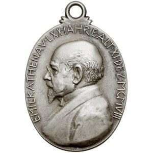 Niemcy, Emil Rathenau, Medal 1908 - srebro