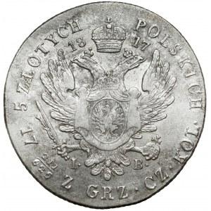 5 złotych polskich 1817 IB - typ przejściowy