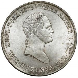 5 złotych polskich 1830 KG - rzadkie i piękne