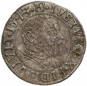 Prusy, Albrecht Hohenzollern, Grosz Królewiec 1543