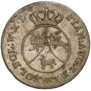Poniatowski, 10 groszy 1787 E.B.