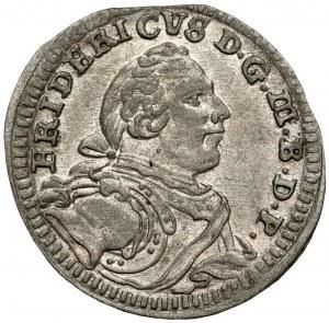 Brandenburg-Bayreuth, Friedrich, 1 Kreuzer 1753 CLR