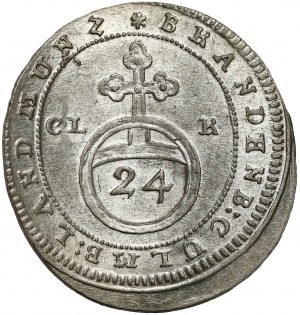 Brandenburg-Bayreuth, Friedrich, 1/24 Taler 1753 CLR
