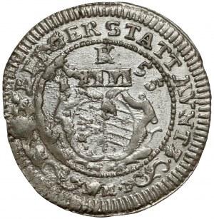 Nürnberg, 4 Kreuzer 1755 K Batzen
