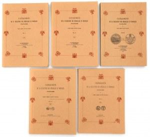 E. Hutten-Czapski, Katalog medali i monet polskich... komplet [reprint BD/1871-1916]