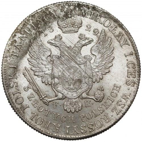 5 złotych polskich 1829 FH