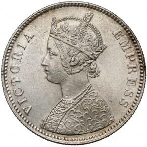 Indie brytyjskie, 1 rupia 1879