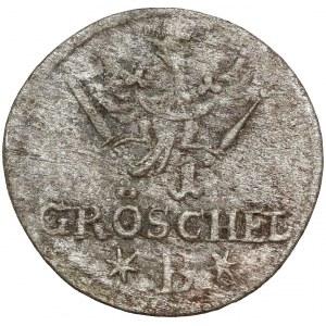 Śląsk, Fryderyk II, 1 gröschel 1754 B, Wrocław