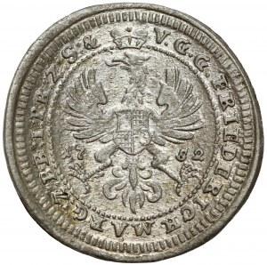 Brandenburg-Bayreuth, Friedrich, 1/24 Taler 1752 CLR
