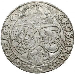 Zygmunt III Waza, Szóstak Kraków 1626 - kokarda luzem