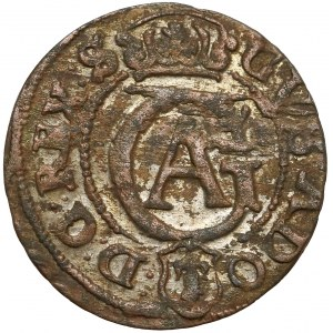 Gustaw II Adolf, Szeląg Elbląg 1633/2 - jak 1635