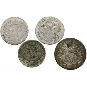 5 i 10 groszy 1816-1840 (4szt)
