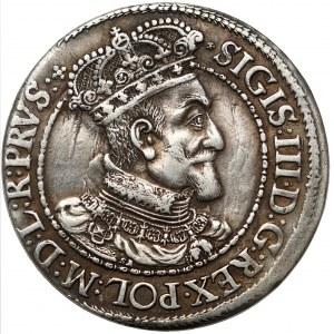 Zygmunt III Waza, Ort Gdańsk 1616 - kołnierz