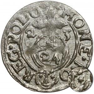 Zygmunt III Waza, Półtorak Bydgoszcz 1623 - niepełna tarcza