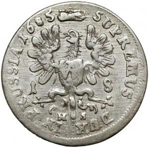 Brandenburg-Preussen, Friedrich Wilhelm, Ort Königsberg 1685 HS