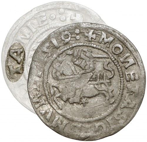 Zygmunt I Stary, Półgrosz Wilno 1519 - błąd LITANIE