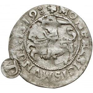 Zygmunt I Stary, Półgrosz Wilno 1519 - odwrócone D - rzadki