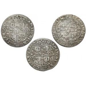Zygmunt III Waza, Ort Bydgoszcz 1622 - ciekawsze (3szt)