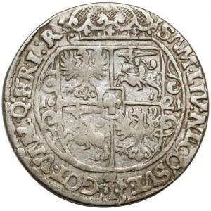 Zygmunt III Waza, Ort Bydgoszcz 1621 - A jak odwrócone V