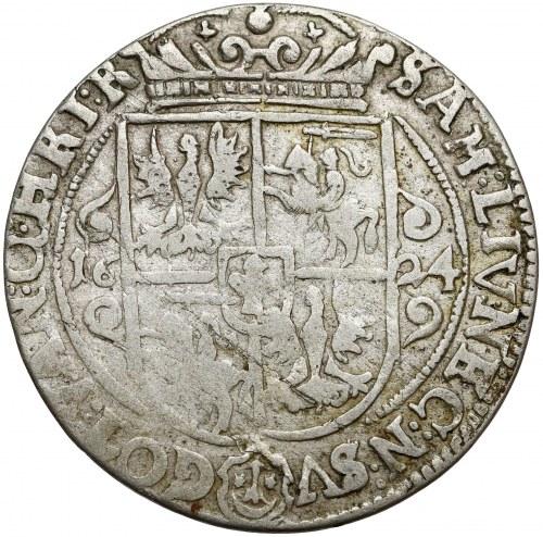 Zygmunt III Waza, Ort Bydgoszcz 1624 - błąd PRV:SM+