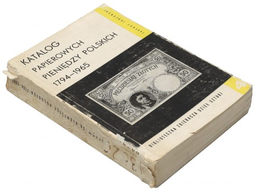 Katalog papierowych pieniędzy polskich 1794-1965, Jabłoński