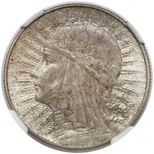 Głowa Kobiety 5 złotych 1934
