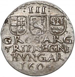 Siedmiogród, Stefan Bocskai, Trojak 1606 - tarcze proste