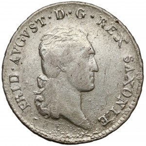 Saschen, Friedrich August III., 1/6 Taler 1810