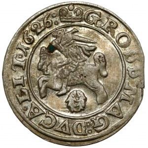 Zygmunt III Waza, Grosz Wilno 1626 - bardzo ładny