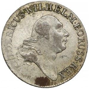 Preussen, Friedrich Wilhelm II, 4 Gröschen 1797-A, Berlin