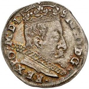 Zygmunt III Waza, Trojak Wilno 1597 - Lidman - b.ładny
