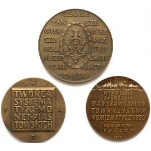 Medale Stronczyński, Beyer i Gdańsk zawsze wierny (3szt)