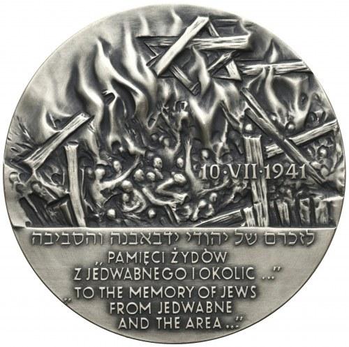 Medal SREBRO Fundacja Rodziny Nissenbaumów - Pamięci Żydów z Jedwabnego
