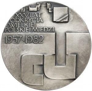 Medal SREBRO Jan Wyżykowski, PTAiN Legnica 1982