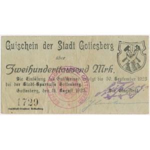Gottesberg (Boguszów-Gorce), 200.000 mk 1923