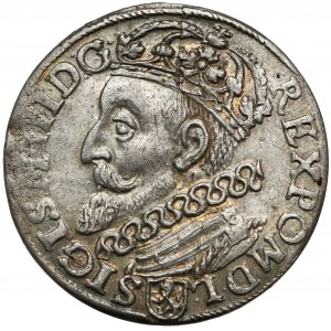 Zygmunt III Waza, Trojak Kraków 1601 - w lewo