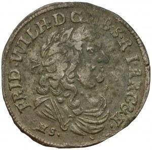 Brandenburg-Preussen, Friedrich Wilhelm, 6-Gröscher 1683 - alt Fälschung?