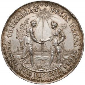 Władysław IV, Medal na pamiątkę rozejmu w Sztumskiej Wsi 1635 (1642) - DADLER i HÖHN