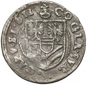Śląsk, Karol II, 3 krajcary 1611, Oleśnica