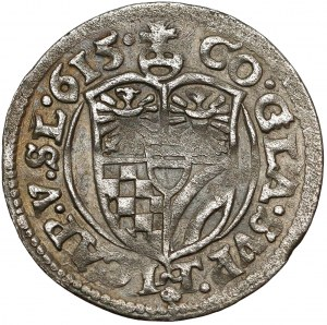 Śląsk, Karol II, 3 krajcary 1615, Oleśnica