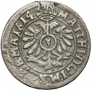 Hanau-Münzenberg, Philipp Moritz, 3 Kreuzer 1614