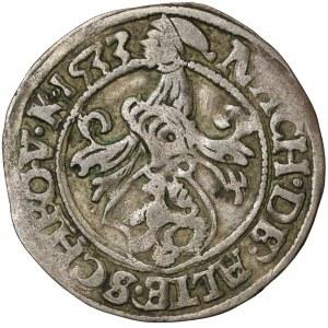 Sachsen-Kurfürstentum, George (1530 - 1533), Groschen 1533