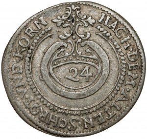Sachsen-Weimar, Wilhelm und seine Brüde, 1/24 Taler 1637 DW