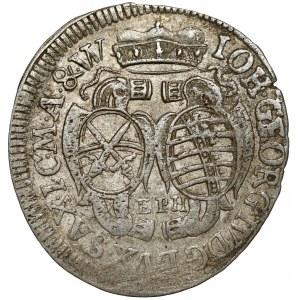 Saschen, Johann Georg IV, 1/12 Taler 169? EPH
