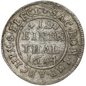 Saschen, Johann Georg IV., 1/12 Taler 1694 EPH, Leipzig