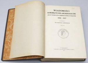 WNA 1916 i 1917 - kompletne roczniki we wspólnej oprawie