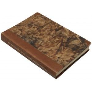 Katalog Monet Polskich (1697-1763) - epoka Saska - w oprawie introligatorskiej