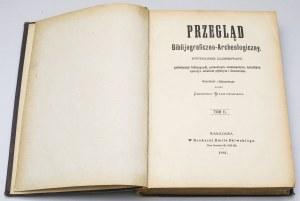 Przegląd bibliograficzno-archeologiczny Tom II, Wilanowski